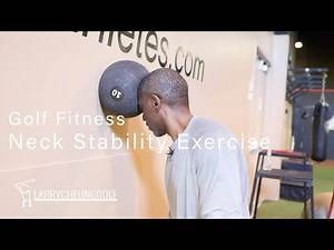 Golf Fitness - Neck Stability Exercise
