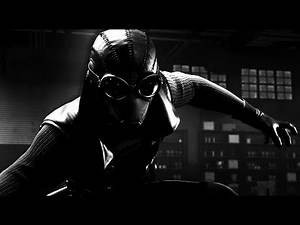 Spider-Man Noir vs Tombstone (Spider-Man Noir Suit Gameplay) - Marvel's Spider-Man [Black and White]