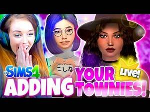 YOU PICK MY TOWNIES! 😍 - Sims 4 CAS Challenge!