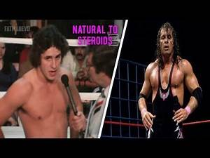 Bret Hart Steroid Transformation - WWF And WCW. Bret Hart Transformation