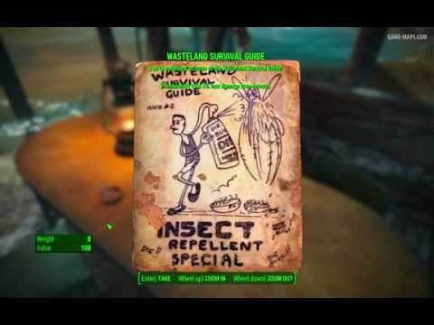 Wasteland Survival Guide Magazine - Crater House - Fallout 4