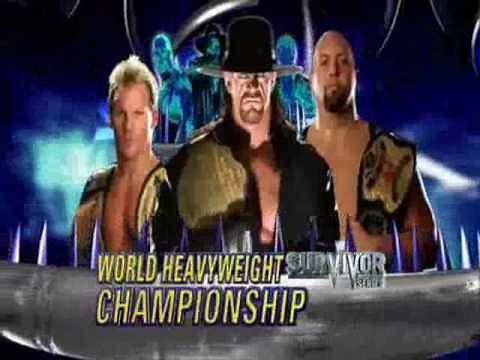 WWE Survivor Series 2009 Match Card