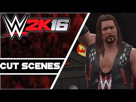 WWE 2K16 : Hall Of Fame Showcase CUT SCENES!