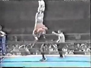 Bam Bam Bigelow+Owen Hart vs Pegasus Kid+Steve Williams 1