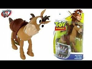 Toy Story Bullseye 10cm Action Figure Toy Review, Mattel