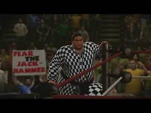 Goldberg vs. Yokozuna w/Mr. Fuji (WrestleMania 1) WWE 2K14