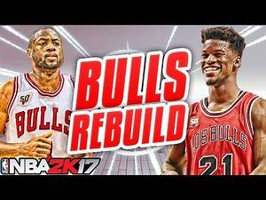 NBA 2K17 MY LEAGUE: REBUILDING THE CHICAGO BULLS!!! 2 ALL STAR SIGNINGS!!!