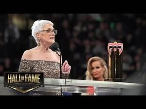 Warrior Award recipient Sue Aitchison reveals her inspiration: WWE Hall of Fame 2019 (WWE Network)
