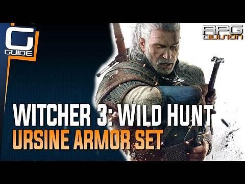 Witcher 3: The Wild Hunt - Ursine Armor Set Diagrams Location