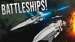 BATTLE CRUISER EPIC WARFARE! - Space Engineers Multi-Crew battle!