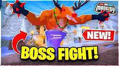 NEW BOSS & WINTER UPDATE IN MAD CITY! (REWARDS!) ❄️ Roblox Mad City