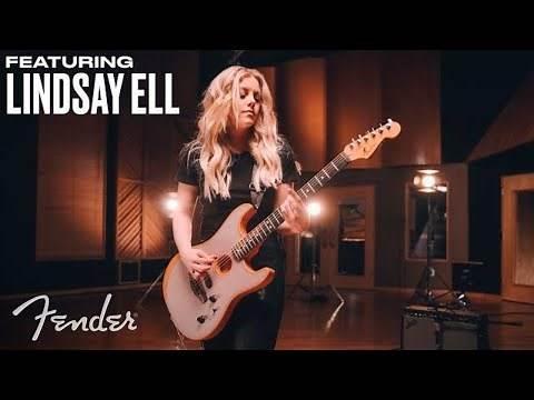 Lindsay Ell | American Acoustasonic Stratocaster | Fender