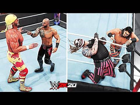 WWE 2K20 Top 10 Best Stolen Comebacks!