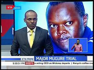 Mj.Peter Mugure fails to take plea at Nyeri high court over gruesome murder of wife and two children