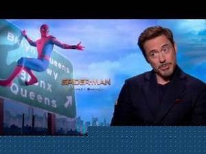 Spider-Man: Homecoming: Robert Downey Jr Official Movie Interview