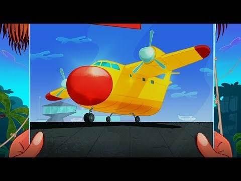 Zig & Sharko ✈ ZIG GETS A PLANE ✈ FLIGHT 2019 compilation 🛩 Cartoons for Children