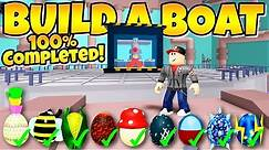 HOW TO GET ALL EGGS In Build a Boat! ( Boss Egg)