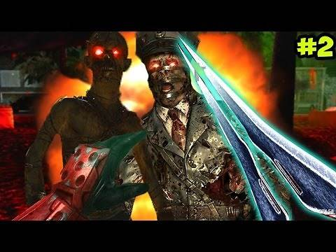 """HALO ENERGY SWORD!"" - Call of Duty Zombies ""CRYOGENIC"" Custom Map FINALE (Custom Zombies)"