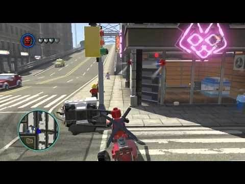 LEGO Marvel Super Heroes The Video Game - Deadpool free roam