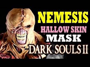 Dark souls 2 Crown Of The Old Iron King NEMESIS EASTER EGG MASK