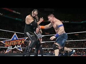 John Cena Vs. Baron Corbin   Summerslam 2017   Highlights