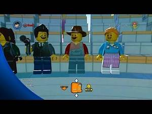 Creating Custom Characters gameplay - The LEGO Movie Videogame