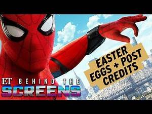 Spider-Man Homecoming: Easter Eggs and Post Credits EXPLAINED! | Behind The Screens Part 2