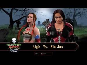 WWE 2K17 AIGLE Submission Single Match (PS4 CAW DIVA)
