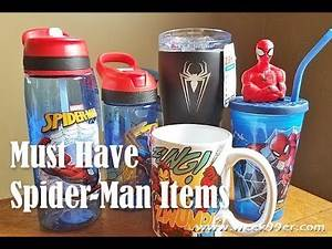 Must Have Spider-Man Items! #Unboxing #Spiderman #Marvel #ZakDesigns