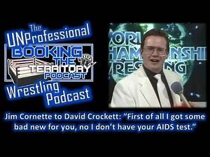 Jim Cornette Rips David Crockett and Jim Ross Compliments the Crowd!