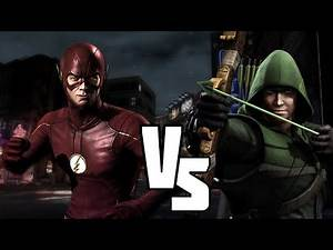 INJUSTICE: Green Arrow Vs Flash The CW DC SUPERHEROES Brawl & Discussion