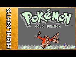 HIGHLIGHTS: Let's Play Pokemon Gold