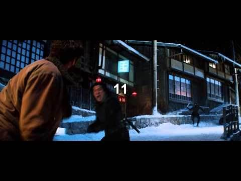 The Wolverine (2013) Hugh Jackman Kill Count