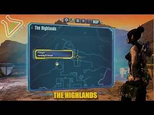 The Highlands Cult of the Vault Locations - Borderlands 2