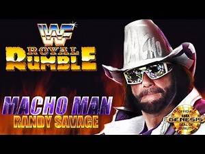 WWF Royal Rumble Genesis - RANDY SAVAGE - WWF Title (1080p/60fps)