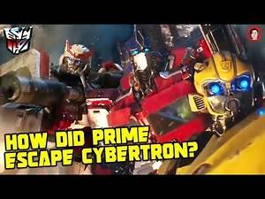 The Cybertron Scene That Sets Up Optimus Prime's SOLO Movie - Bumblebee 2018 Reboot Plan