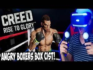 ANGRY BOXERS BOX CIST    CREED VR (PSVR)