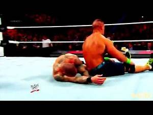 John Cena vs Randy Orton Royal Rumble 2014 Highlights HD