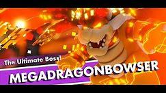 How To Beat MEGADRAGONBOWSER (Final Boss) - Mario Rabbids Kingdom Battle
