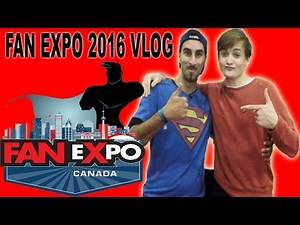 Fan Expo 2016 Vlog - Jack Gleeson Told off!! - Comic-Con 2016