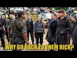 The Walking Dead Season 8 Episode 6 Review Breakdown & Discussion - Why Go Back To Them Rick?