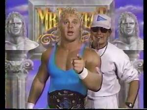 Mr. Perfect (with Coach) Promo [1991-07-20]