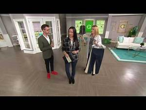 C. Wonder Stretch Twill Pull-On Ankle Length Pants on QVC