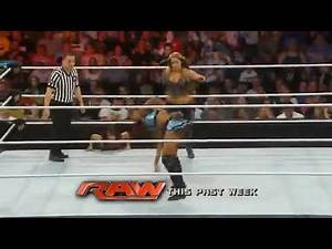 WWE SmackDown Alicia Fox Vs Kaitlyn 2013