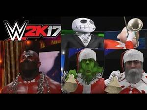 WWE 2k17 Christmas Special (Shocking Ending)