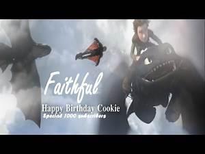 "Hiccup & Toothless ""Ƒαιтнƒυℓ"" (Hαρρу Ɓιятн∂αу Ƈσσкιє ♥)"