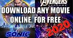 How to download full movies for free   best free movie download websites.