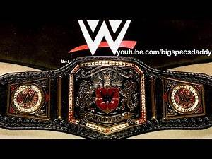 WWE Mini United Kingdom Championship Belt Review