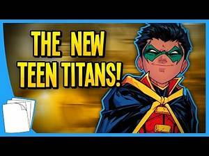 DC Comics' New TEEN TITANS Book Makes Rebirth Even Better!   The Show With Reviews - Auram