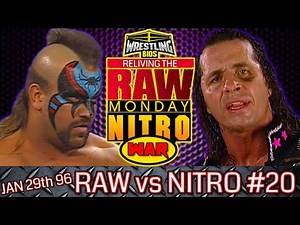 """Raw vs Nitro """"Reliving The War"""": Episode 20 - Jan 29th 1996"""
